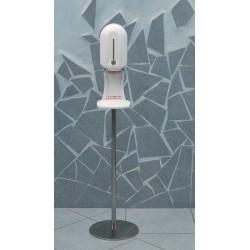 Distributeur automatique sans contact sur pied inox
