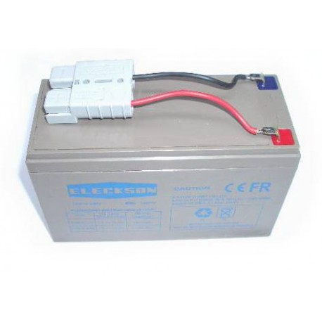 Batterie 12 V + fiche