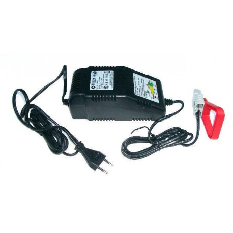 Chargeur batterie 12 V + fiche