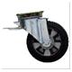 Roue pivotante spéciale chariot cuve air
