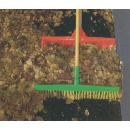 Balai + manche spécifiques feuilles et neige