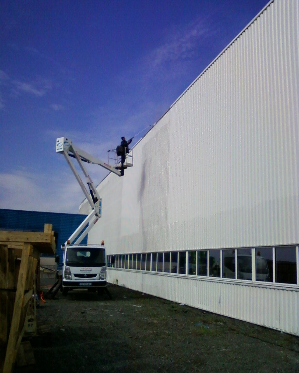 Nettoyage bâtiment industriel
